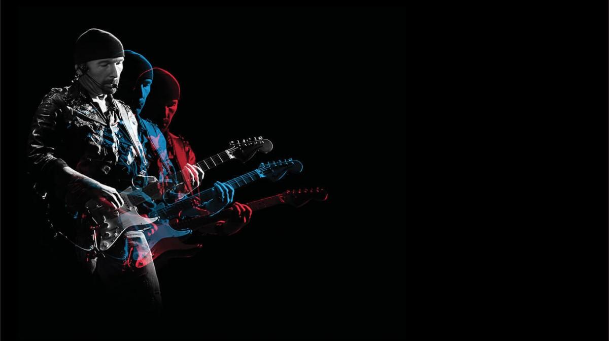 Extrait d'un inédit de U2 dans une vidéo Fender