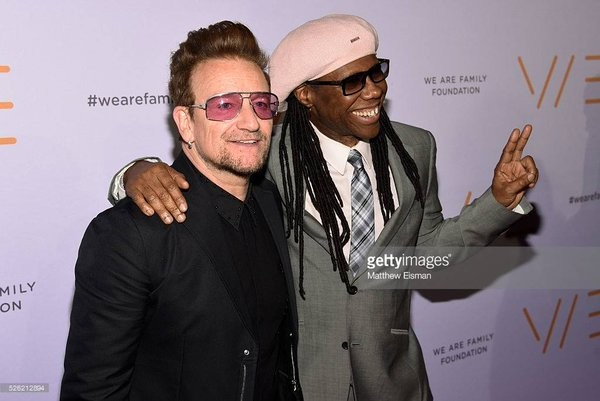 La Family Foundation et Nile Rodgers récompensent Bono