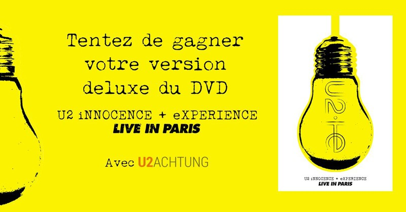Gagnez votre version deluxe du DVD Live in Paris !