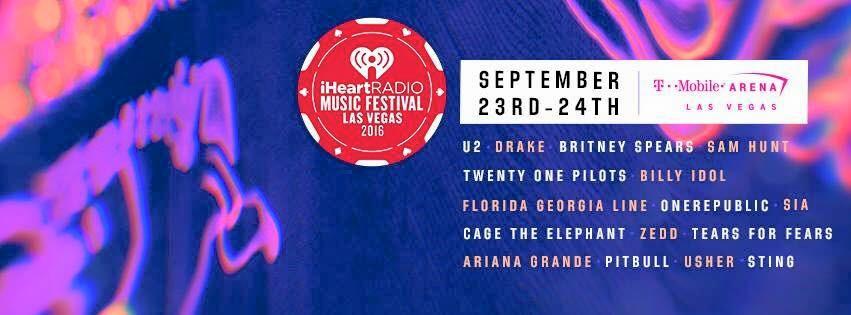 U2 en tête d'affiche du iHeartRadio Festival !