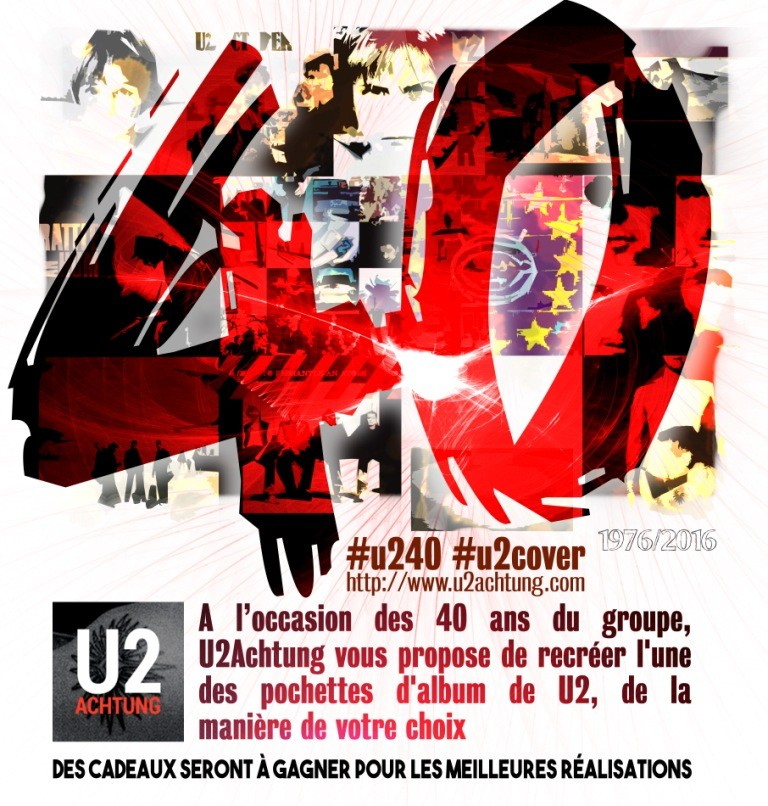 Concours 40 ans de U2 - #U240