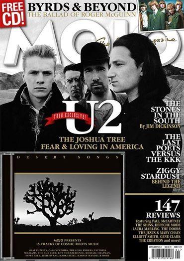 U2 en couverture du prochain Mojo Magazine