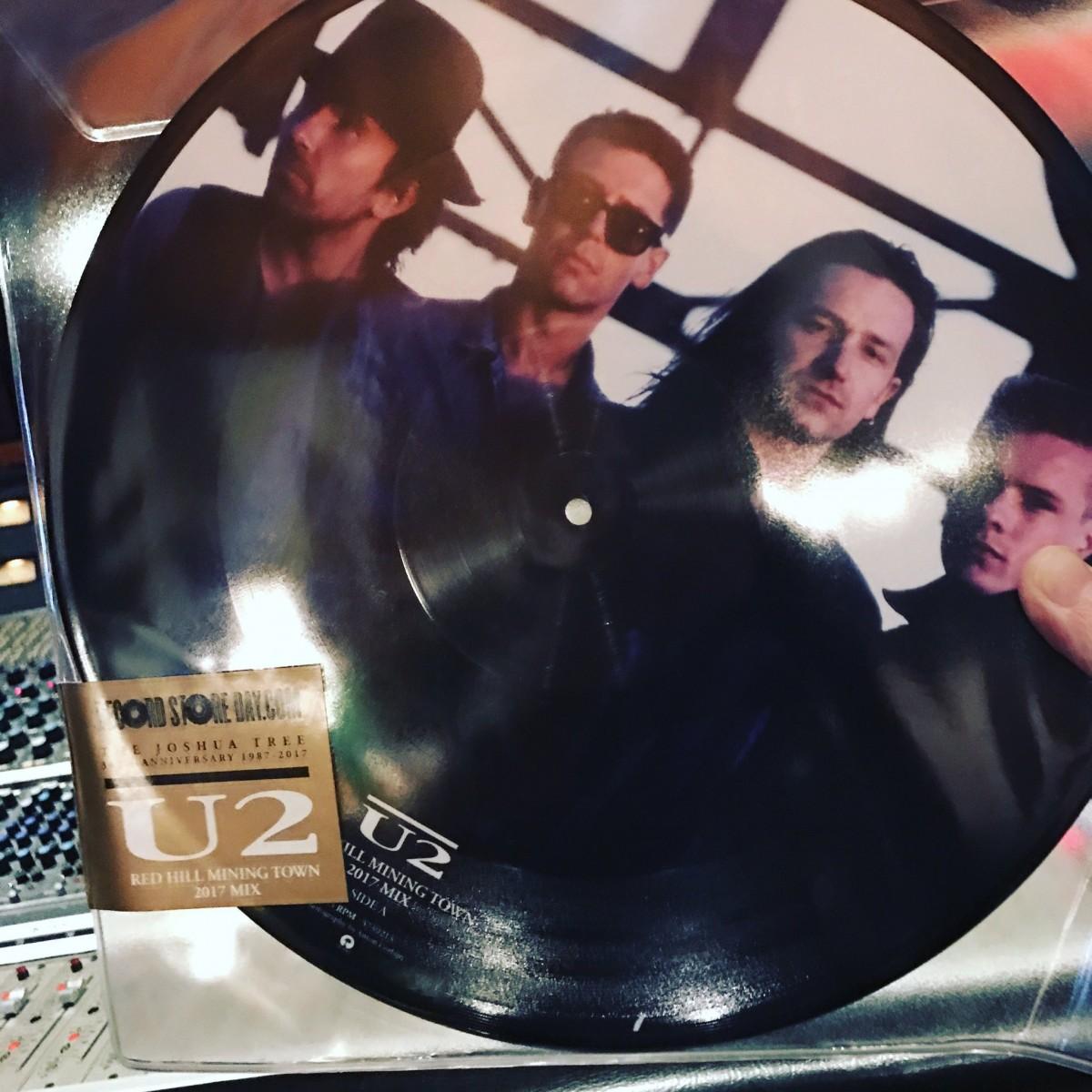 Un titre de U2 pour le Record Store Day