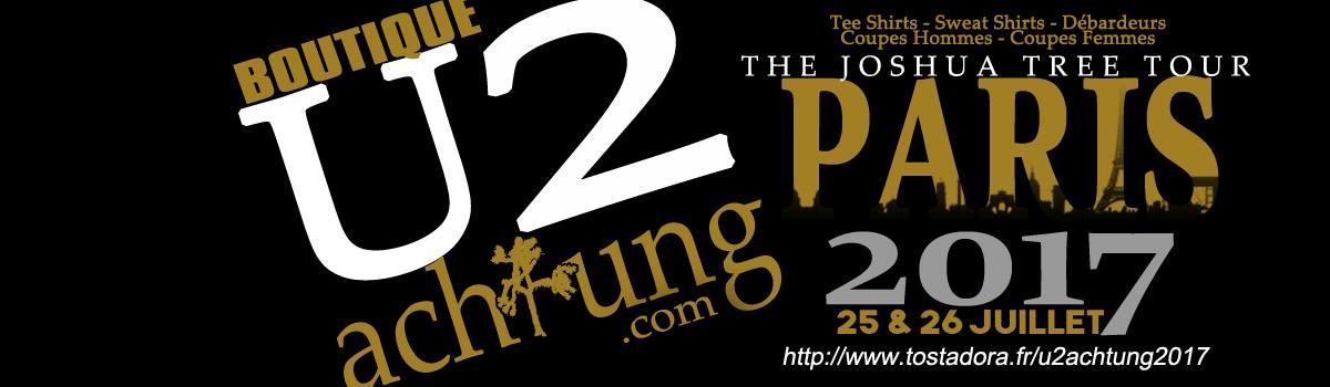 Votre t-shirt U2Achtung pour la tournée JT30