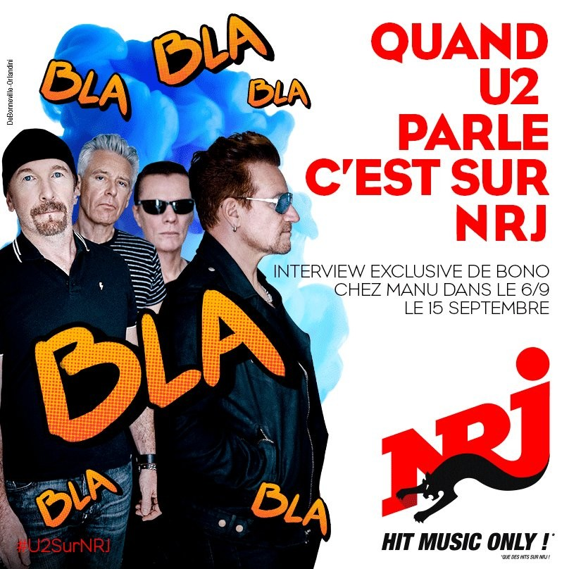 Interview de Bono sur NRJ