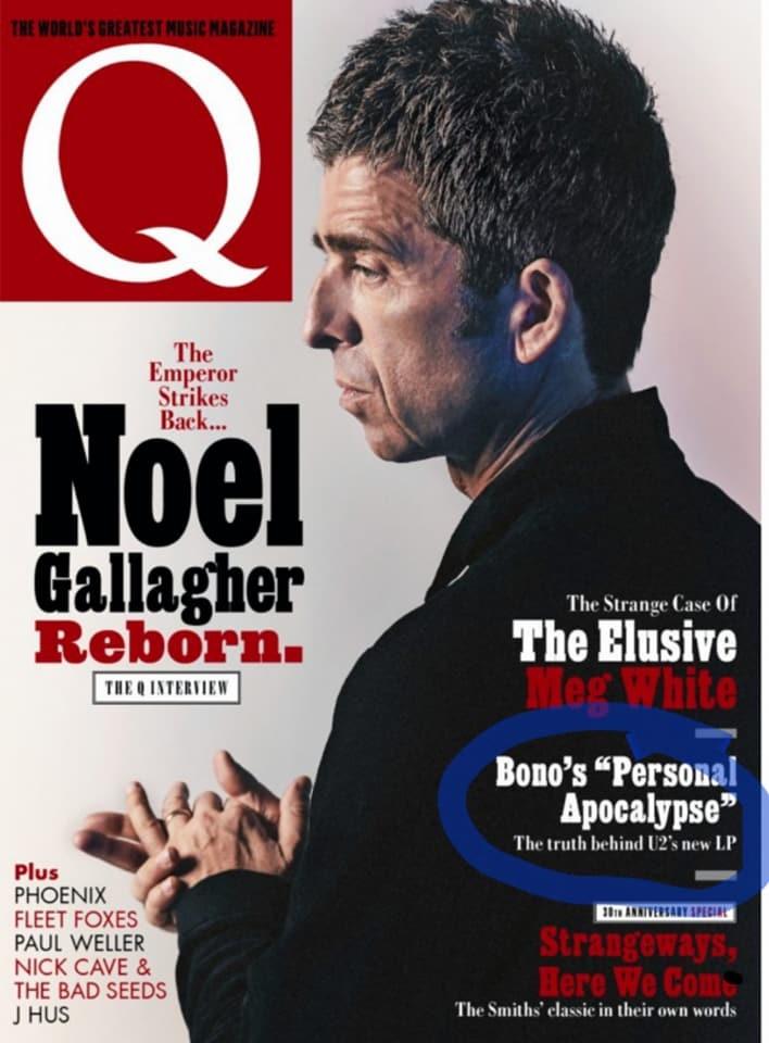 U2 dans le prochain Q Magazine + Formats de SOE