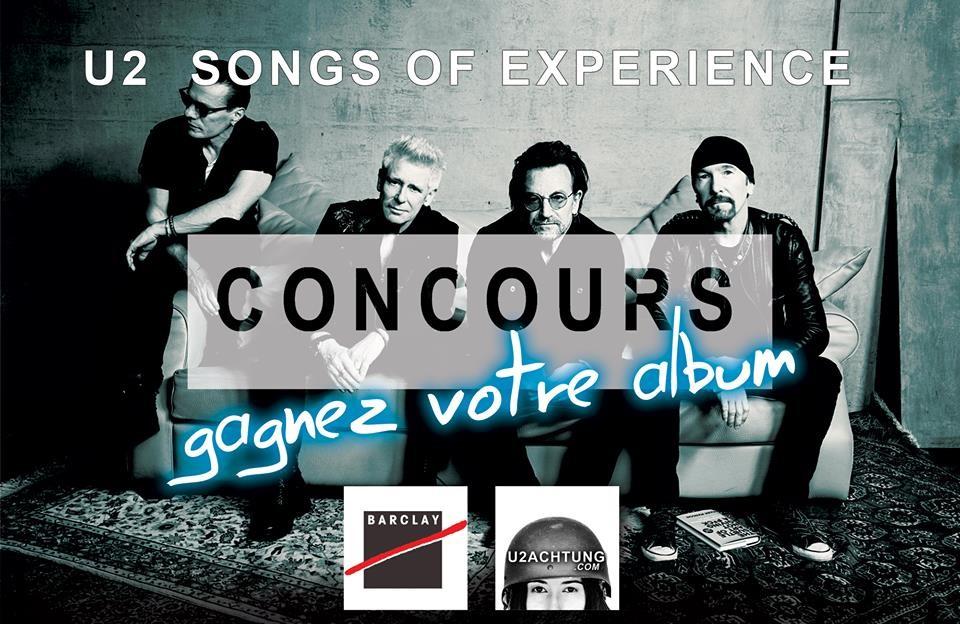 [MAJ] Gagnez votre album Songs of Experience !