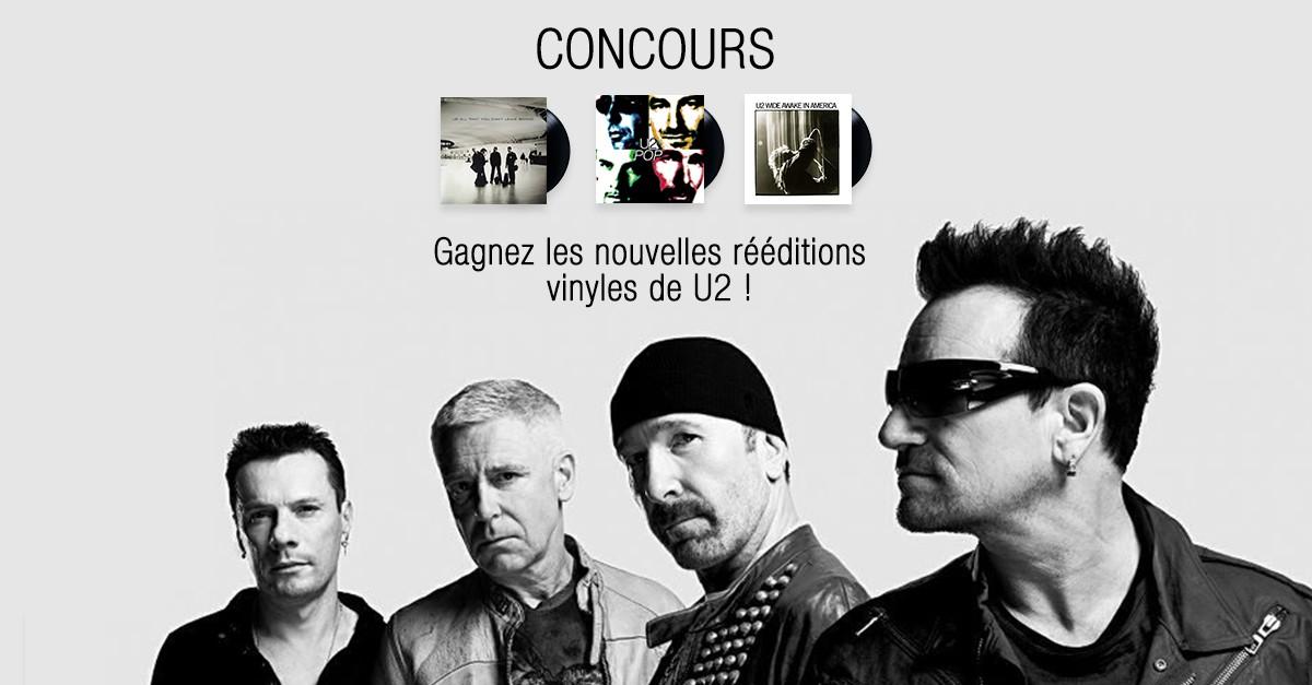 [MAJ Gagnants] Concours : gagnez vos rééditions vinyles de U2