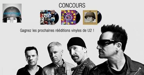 Concours : gagnez les nouvelles rééditions vinyles de U2