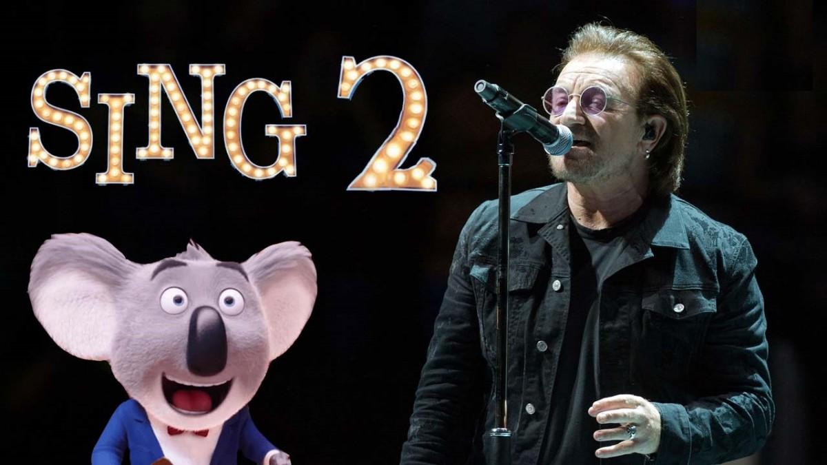 Bono dans le casting du film d'animation Sing 2